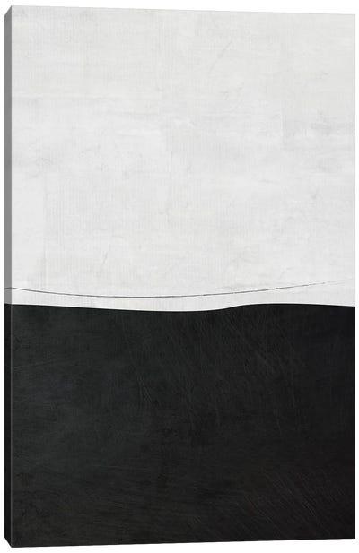 B&W Minimalist II Canvas Art Print