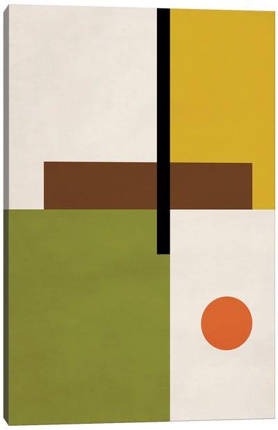 Abstract Geo Bauhaus I Canvas Art Print