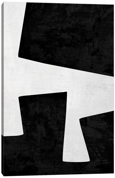 B&W Min II Canvas Art Print