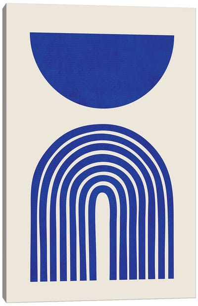 Blue Matisse Arches Canvas Art Print