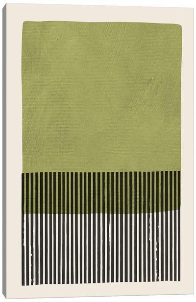 Green Black Wall Art I Canvas Art Print