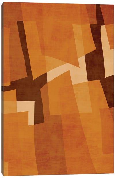 Abstract Wood Digital Abstract Canvas Art Print