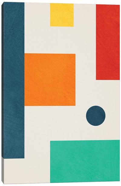 Geometric Colorful I Canvas Art Print
