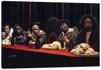 Last Supper Canvas Art Print