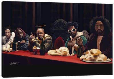 Last Supper Canvas Art Print