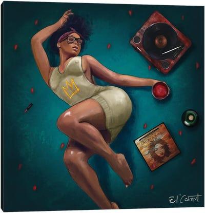 Lauryn Hill & Chill Canvas Art Print