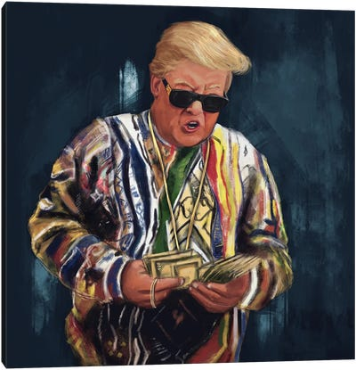Biggie Trump Canvas Art Print