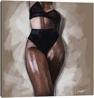 Black Woman Canvas Art Print