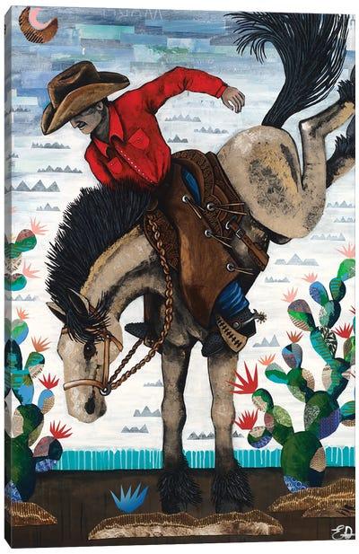 Pecos Bill Canvas Art Print