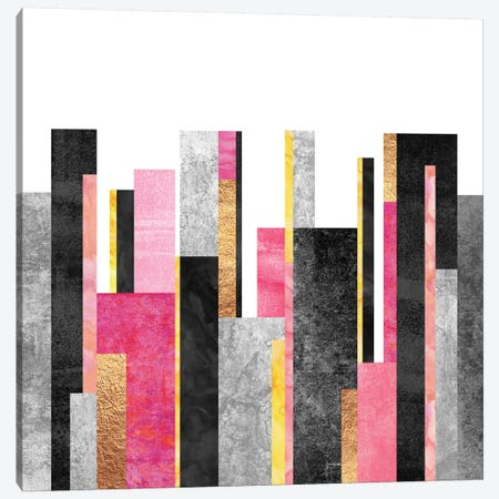 Skyline Canvas Print #ELF103} by Elisabeth Fredriksson Canvas Wall Art