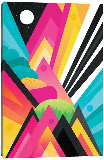 Space Garden Canvas Art Print