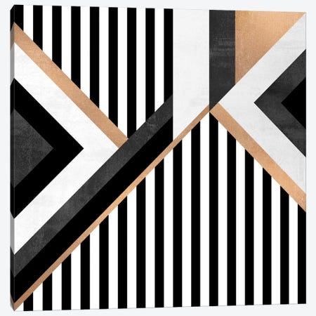 Stripe Combination Canvas Print #ELF105} by Elisabeth Fredriksson Canvas Art Print