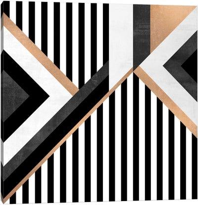 Stripe Combination Canvas Art Print
