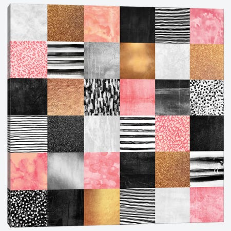 Sweet Quilt Canvas Print #ELF108} by Elisabeth Fredriksson Canvas Artwork
