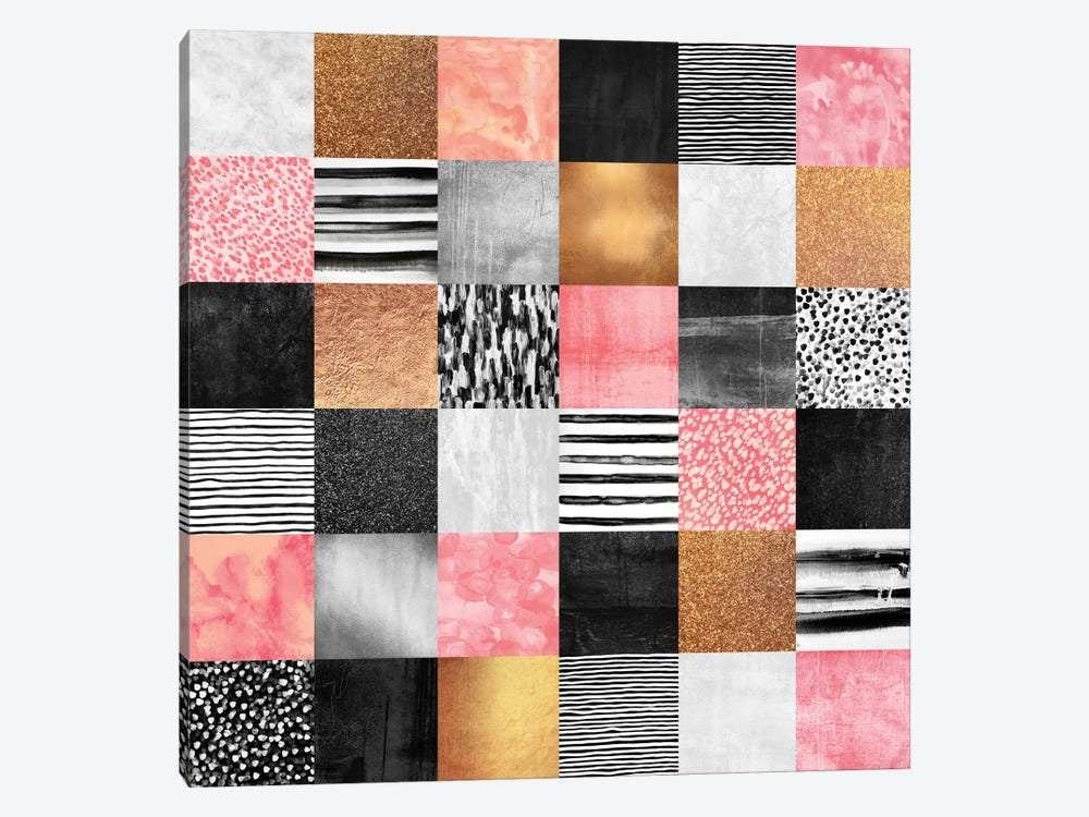 Sweet Quilt by Elisabeth Fredriksson 1-piece Canvas Wall Art