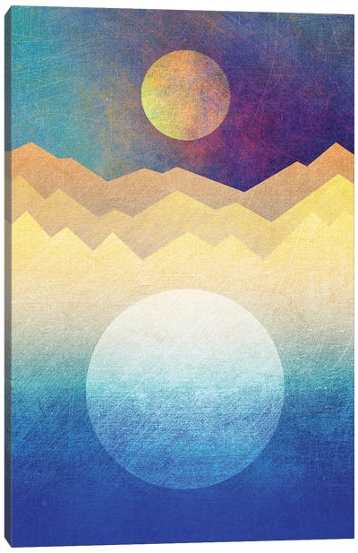 The Moon And The Sun Canvas Print #ELF109