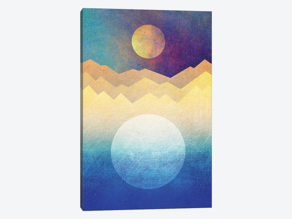 The Moon And The Sun by Elisabeth Fredriksson 1-piece Canvas Print