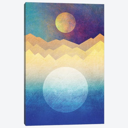 The Moon And The Sun Canvas Print #ELF109} by Elisabeth Fredriksson Canvas Artwork