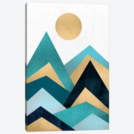 Waves Canvas Print #ELF115} by Elisabeth Fredriksson Canvas Wall Art