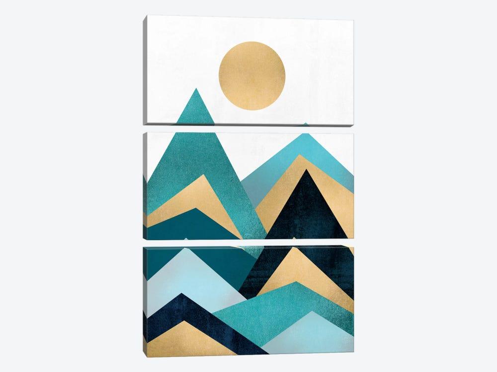 Waves by Elisabeth Fredriksson 3-piece Canvas Art