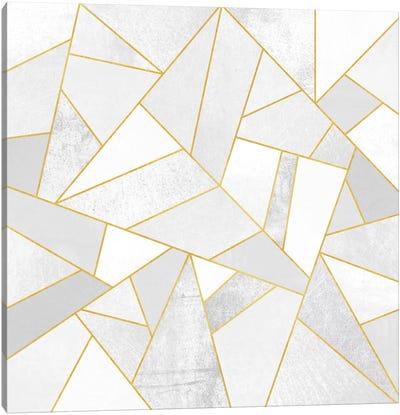 White Stone Canvas Print #ELF118
