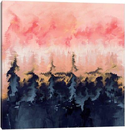 Abstract Wilderness Canvas Print #ELF120