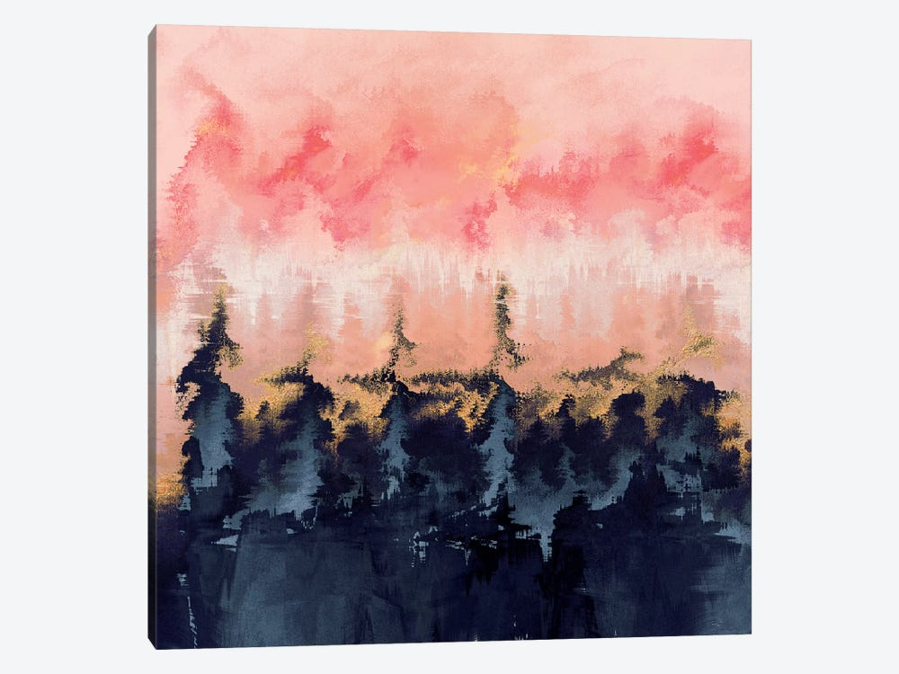 Abstract Wilderness by Elisabeth Fredriksson 1-piece Canvas Wall Art