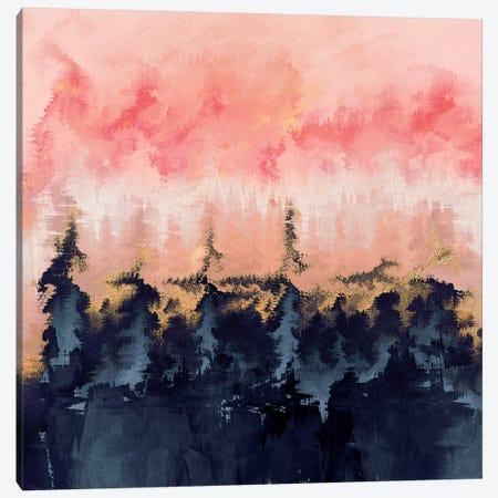 Abstract Wilderness Canvas Print #ELF120} by Elisabeth Fredriksson Canvas Artwork