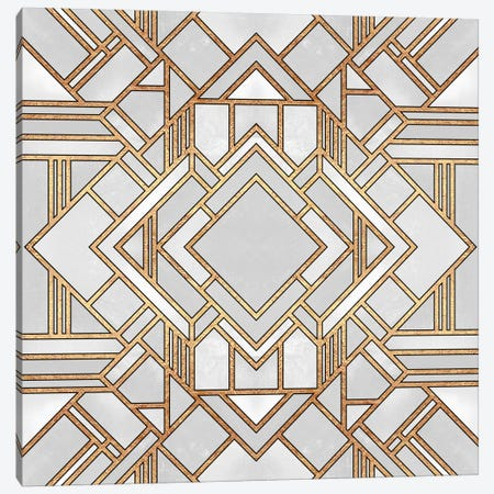 Art Deco I Canvas Print #ELF124} by Elisabeth Fredriksson Canvas Art Print