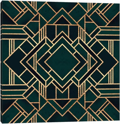 Art Deco II Canvas Art Print