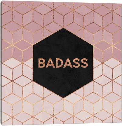 Badass Canvas Art Print