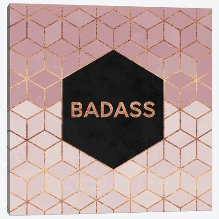 Badass Canvas Print #ELF129} by Elisabeth Fredriksson Canvas Wall Art