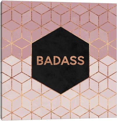 Badass Canvas Art Print