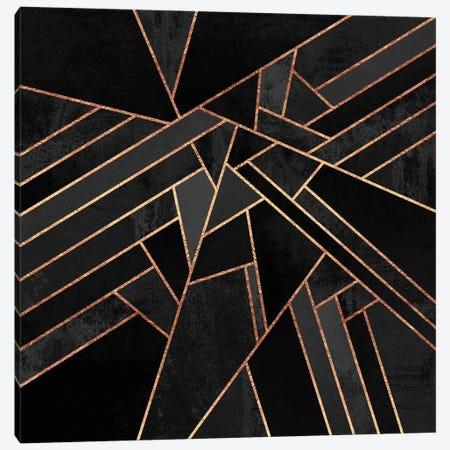 Black Night Canvas Print #ELF12} by Elisabeth Fredriksson Canvas Wall Art