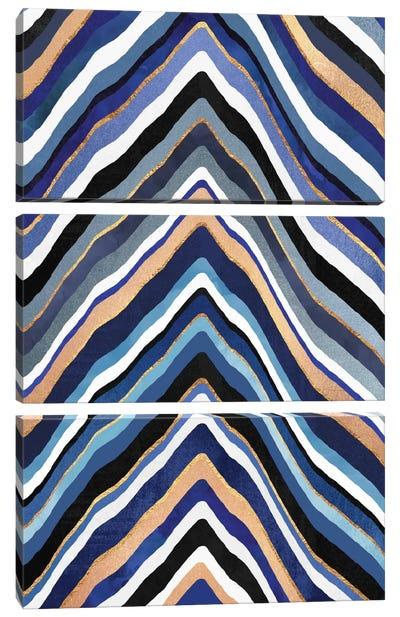 Blue Slice Canvas Art Print