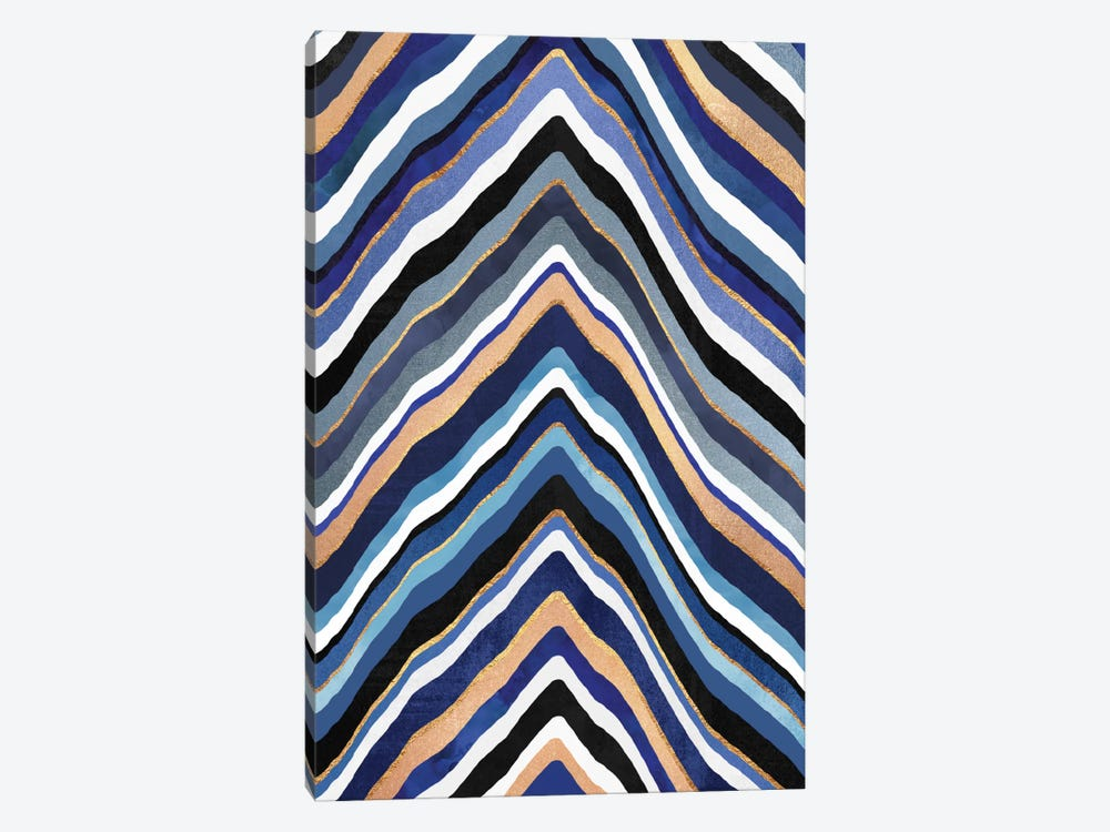 Blue Slice by Elisabeth Fredriksson 1-piece Canvas Print