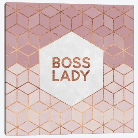 Boss Lady Canvas Print #ELF131} by Elisabeth Fredriksson Canvas Art Print