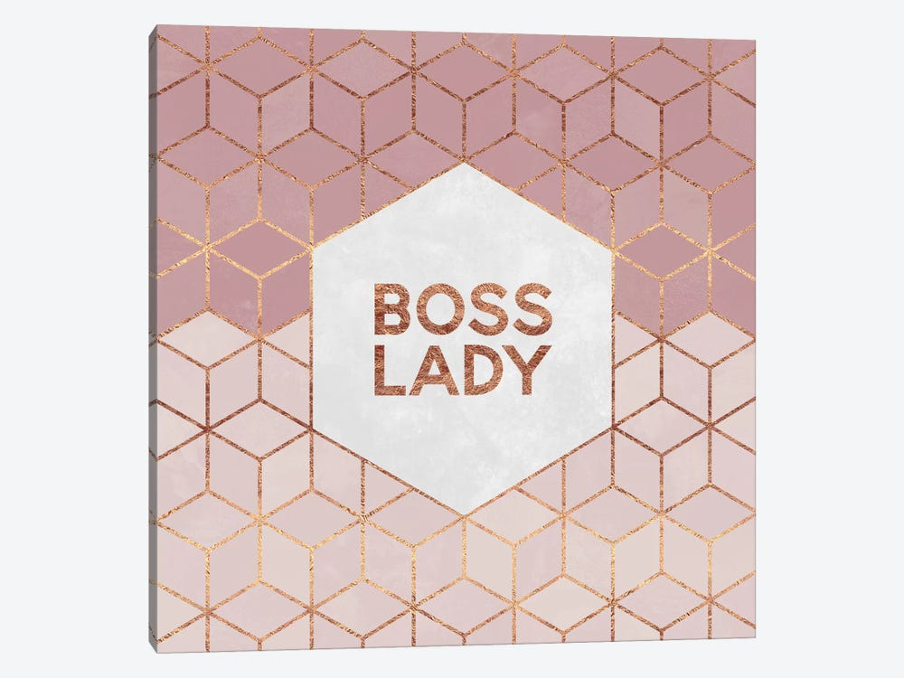 Boss Lady by Elisabeth Fredriksson 1-piece Canvas Wall Art