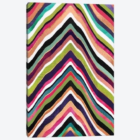Color Slice Canvas Print #ELF132} by Elisabeth Fredriksson Canvas Print