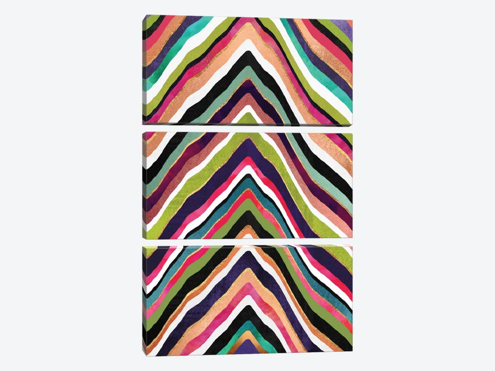 Color Slice by Elisabeth Fredriksson 3-piece Canvas Art Print