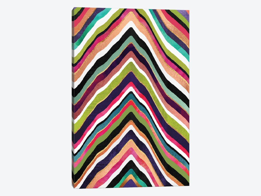 Color Slice by Elisabeth Fredriksson 1-piece Canvas Art Print