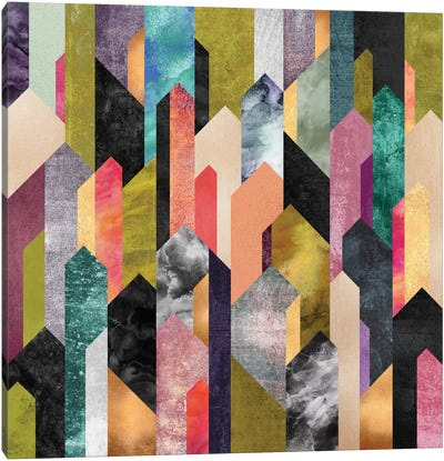 Crystallized Canvas Print #ELF133