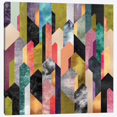Crystallized Canvas Print #ELF133} by Elisabeth Fredriksson Art Print