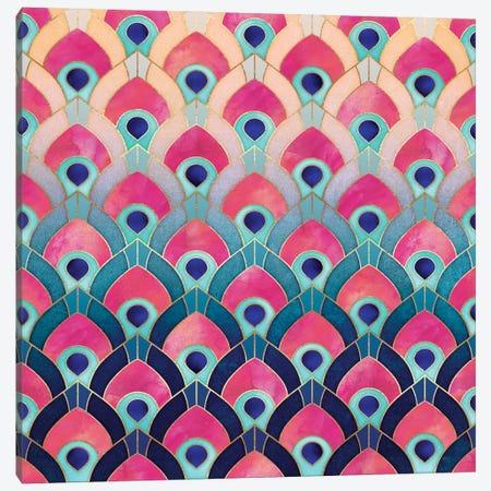 Feathered I Canvas Print #ELF135} by Elisabeth Fredriksson Canvas Artwork