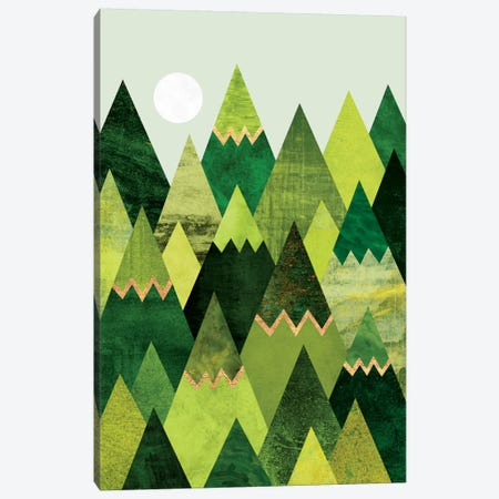 Forest Mountains Canvas Print #ELF137} by Elisabeth Fredriksson Canvas Art