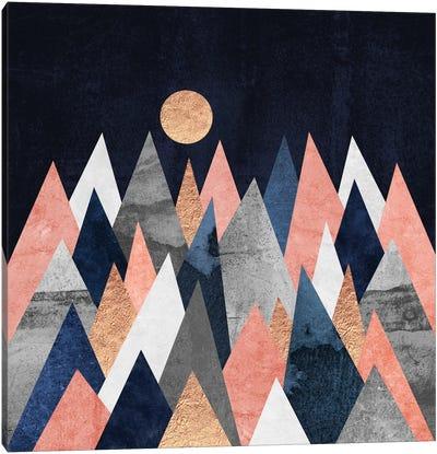 Gold Moon Canvas Art Print