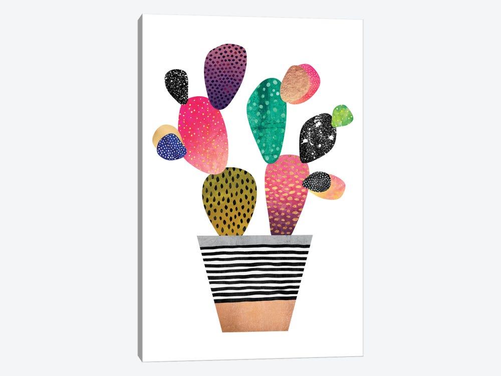 Happy Cactus by Elisabeth Fredriksson 1-piece Canvas Art