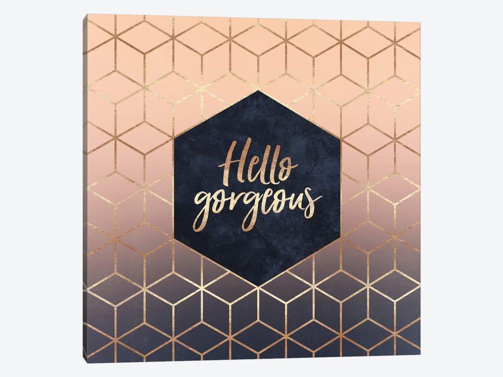 Hello Gorgeous by Elisabeth Fredriksson 1-piece Canvas Art Print