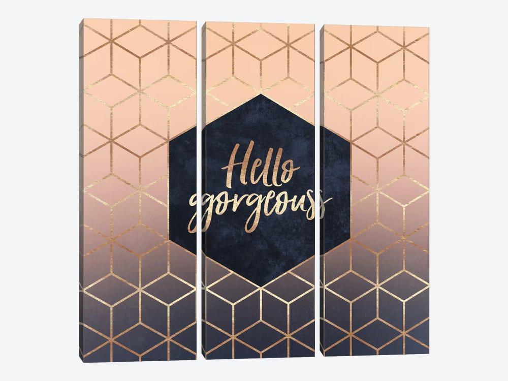 Hello Gorgeous by Elisabeth Fredriksson 3-piece Art Print