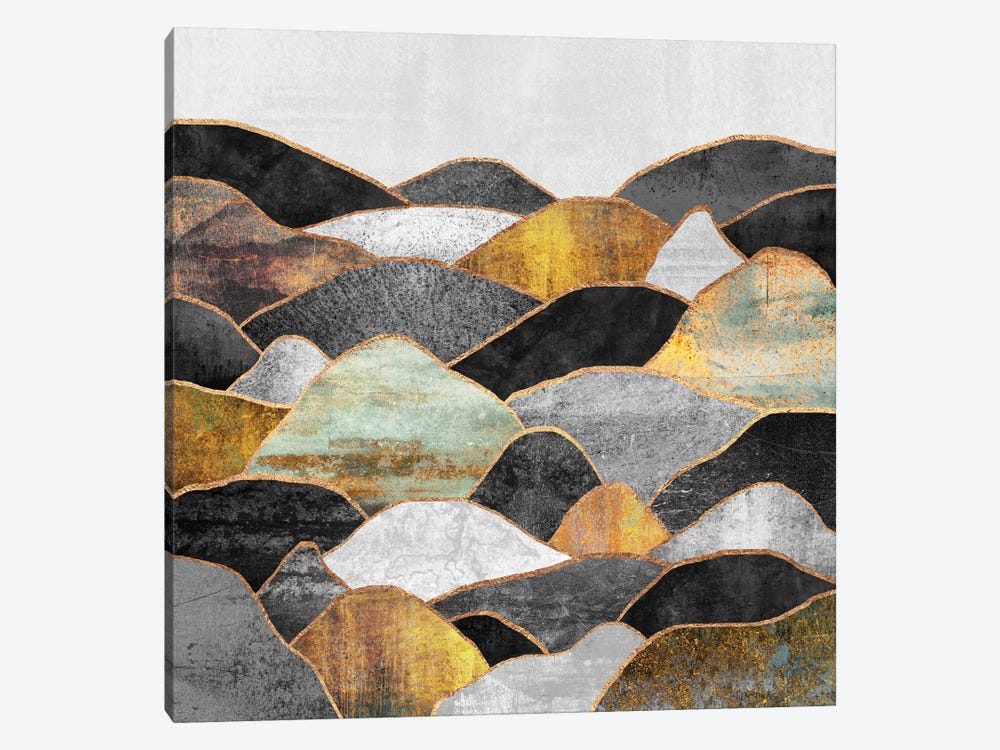 Hills by Elisabeth Fredriksson 1-piece Canvas Art